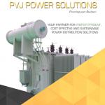 PVJ Power Transformer Manufacturer Brochure Page 1