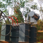 Transformer commissioned at site