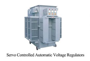 Servo Controlled Automatic Voltage Regulators